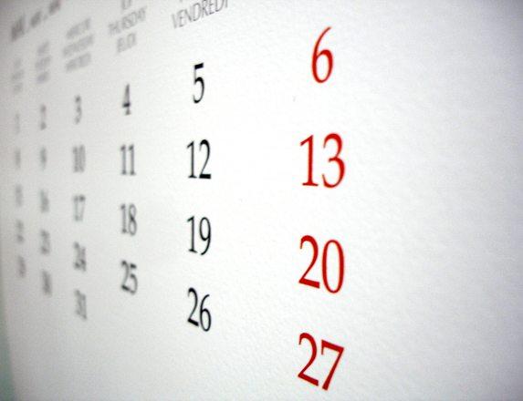 Zmiana sposobu obliczania terminu kończącego się w sobotę